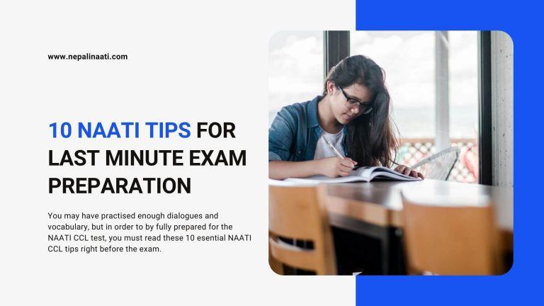 10 naati ccl tips for last minute exam preparation